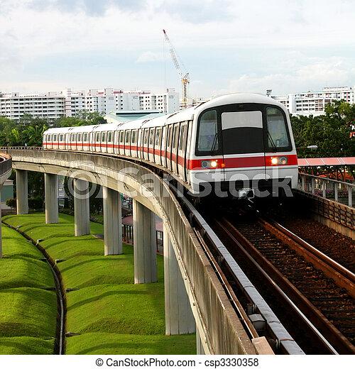 Public Subway Transport - csp3330358