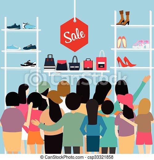 Clipart Shoe Sale