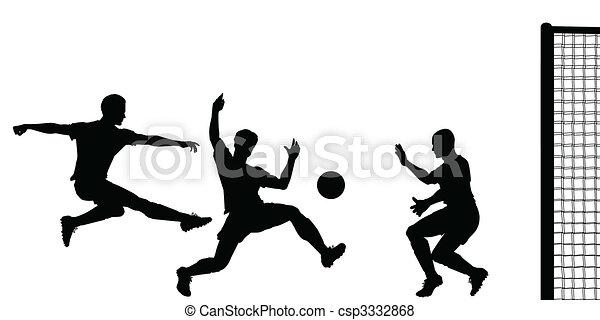 Goalmouth action - csp3332868