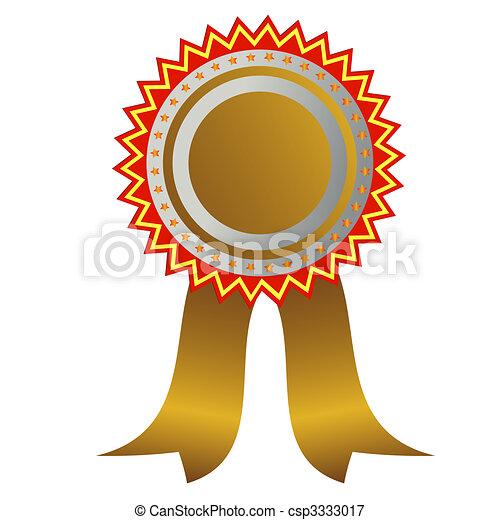 Champion medal - csp3333017