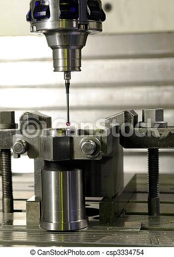 precision measurement by sensing head - csp3334754