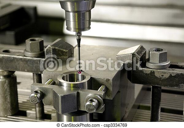 precision measurement by sensing head - csp3334769