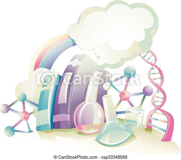 Ciencia, diseño - csp33348569