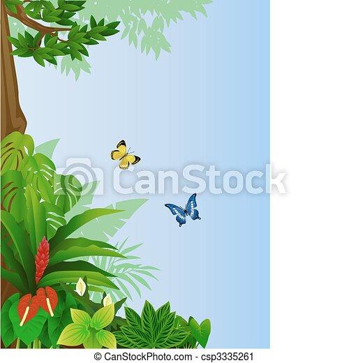 Forest background - csp3335261
