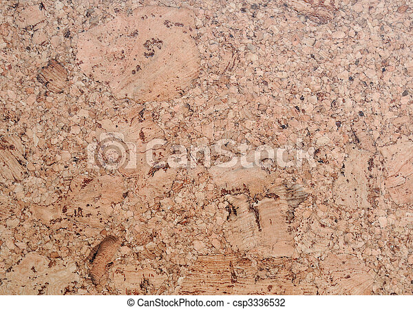 cork board flooring texture - csp3336532