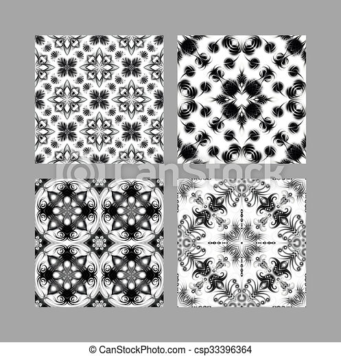 Illustration de textures blanc carrelage noir black for Texture carrelage blanc