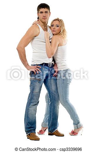 Man and woman - csp3339696