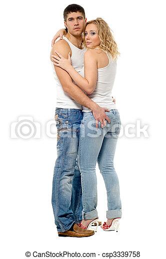 Man and woman - csp3339758