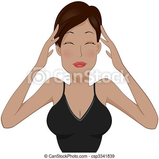 Headache - csp3341839