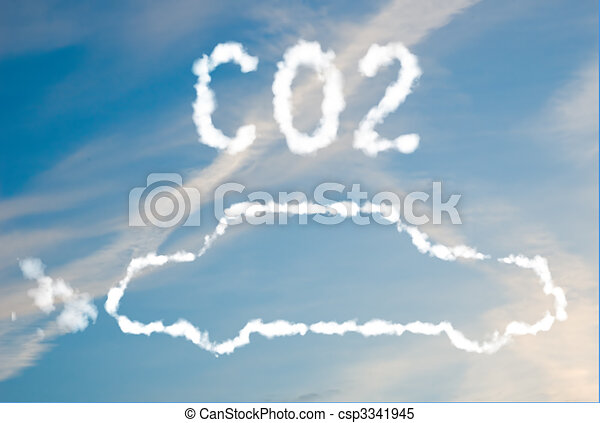 CO2 car emissions - csp3341945