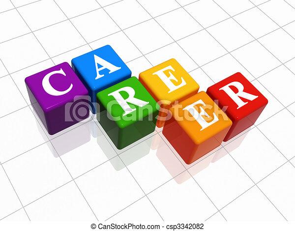 career in colour - csp3342082