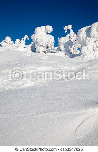 Lapland Finland - csp3347025