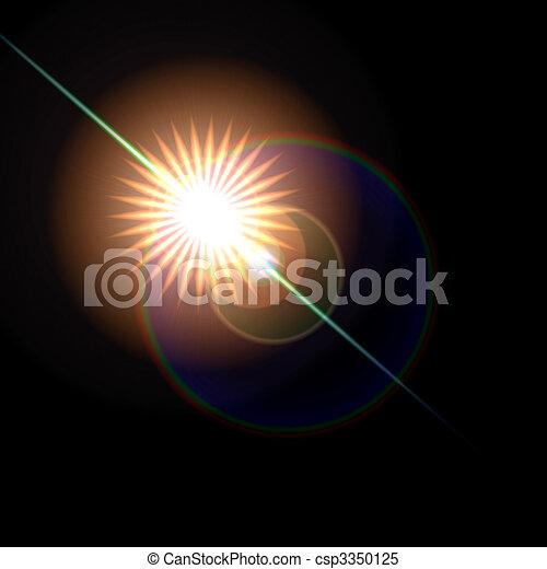 Lens Flare - csp3350125