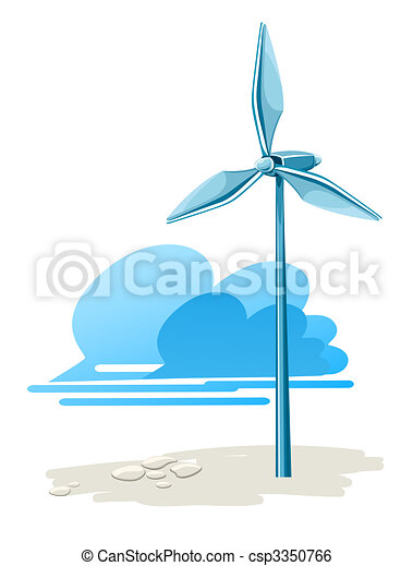 wind turbine for electricity energy generation - csp3350766
