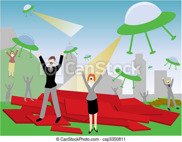 Alien Attack - csp3350811