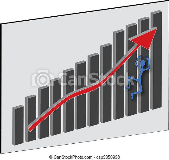 Falling Profit - csp3350938