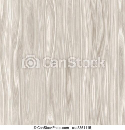 Lighter Wood Grain - csp3351115