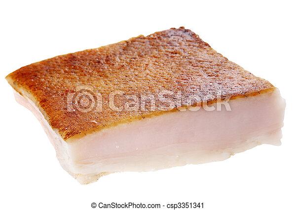 Salted pork fat - csp3351341