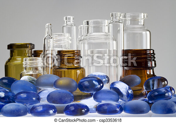 Pharmaceutical vials - csp3353618