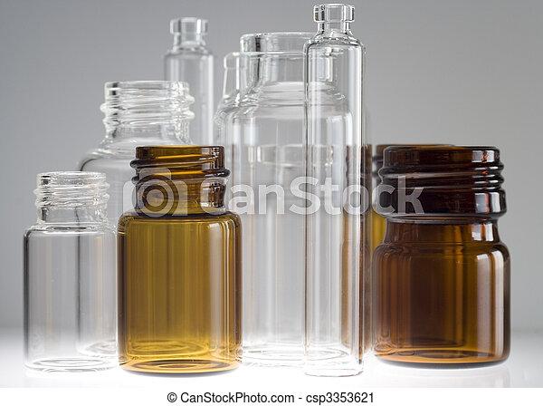 Pharmaceutical vials - csp3353621