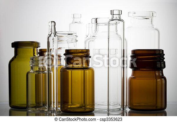 Pharmaceutical vials - csp3353623