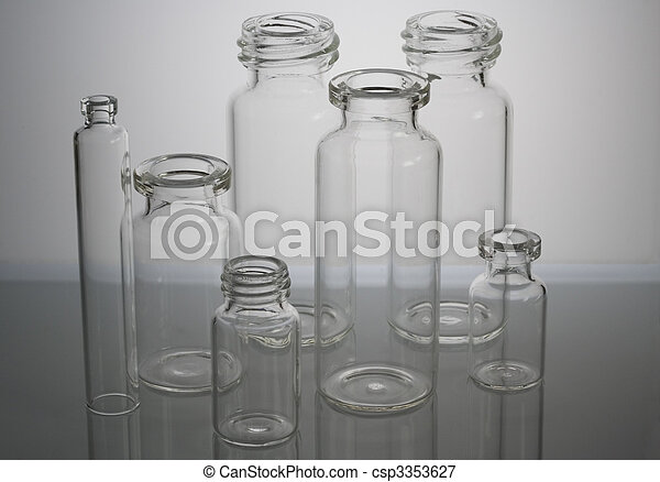Pharmaceutical vials - csp3353627