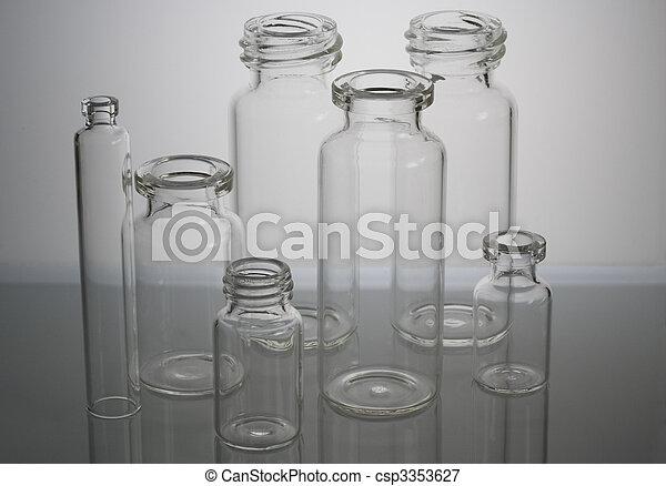 Pharmaceutical vials - csp3353627