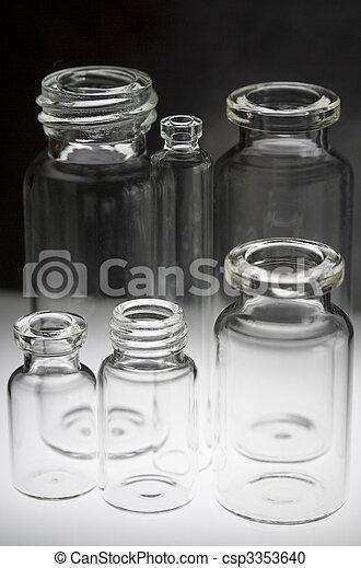Pharmaceutical vials - csp3353640