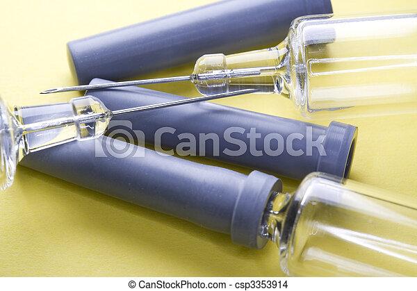 Pharmaceutical syringes - csp3353914