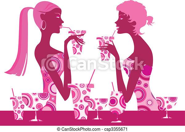 Cocktail bar - csp3355671