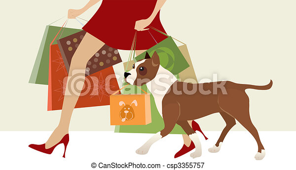 Shopping helper - csp3355757
