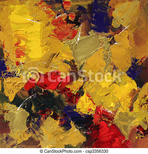 抽象的な 芸術 - csp3356330