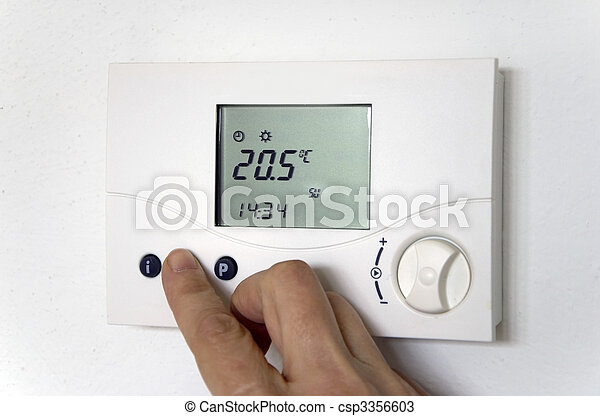 hand thermostat - csp3356603
