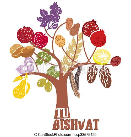 Tu BiShvat - csp33575489