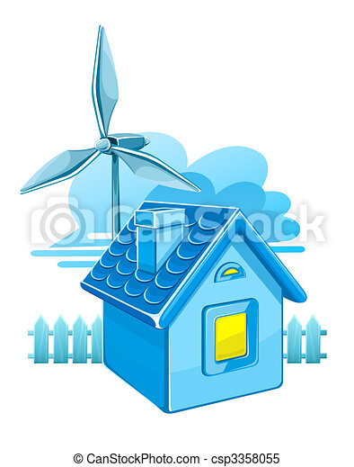 wind turbine for electricity energy generation - csp3358055