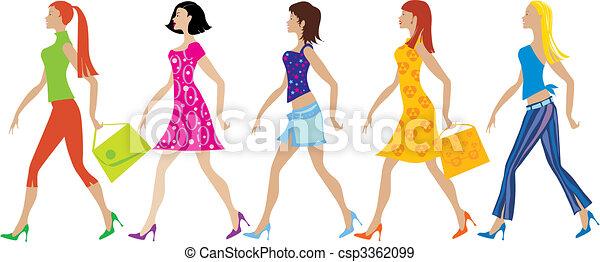 Five girls - csp3362099