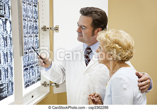 Doctor Patient Test Results - csp3362286