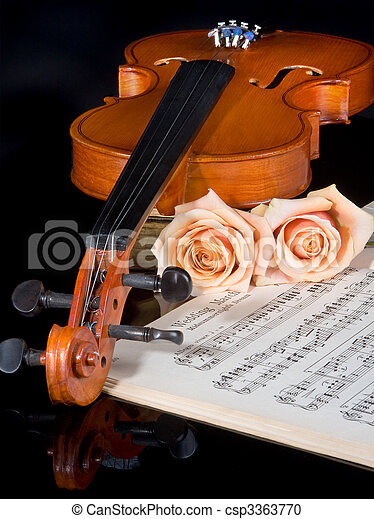 Wedding strings - csp3363770