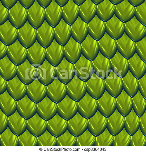 dragon scales vector - csp3364843