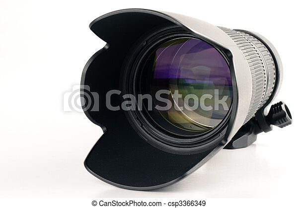 Telephoto zoom lens - csp3366349