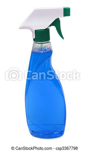spray bottle - glass cleaner