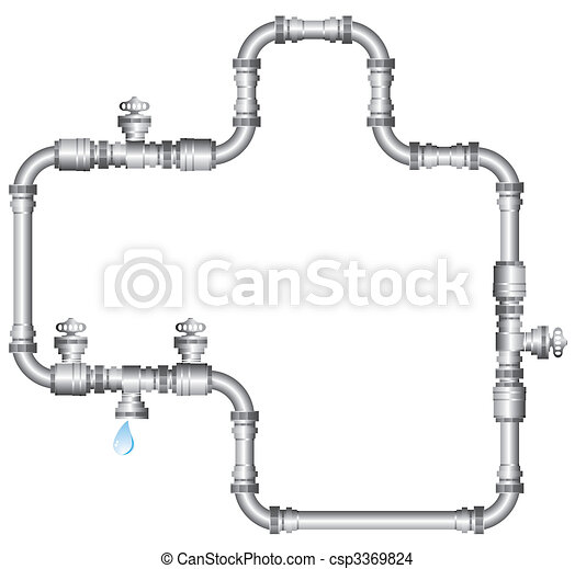 water pipes - csp3369824