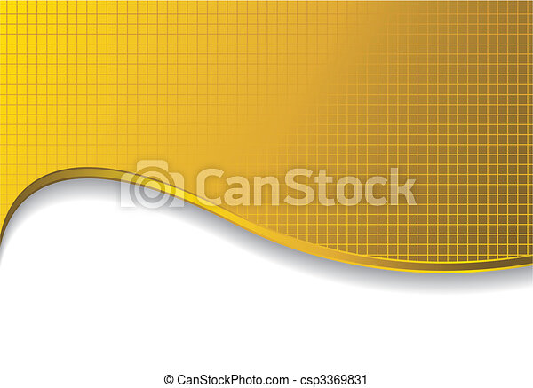 gold background with shadow - csp3369831