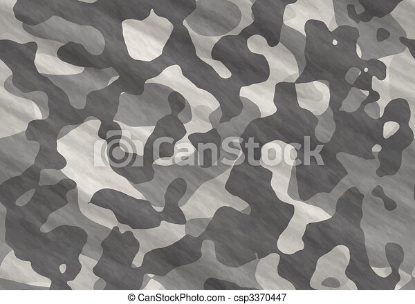 camouflage material - csp3370447