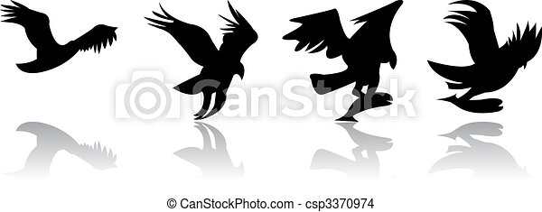 Eagle Catching Fish Drawing EPS Vector of eagle fi...