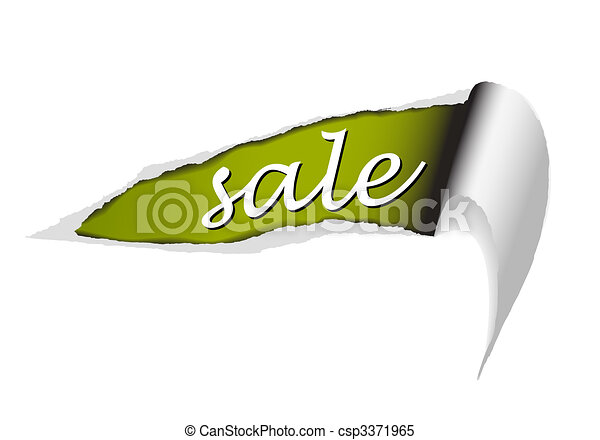 background for items in sale - csp3371965