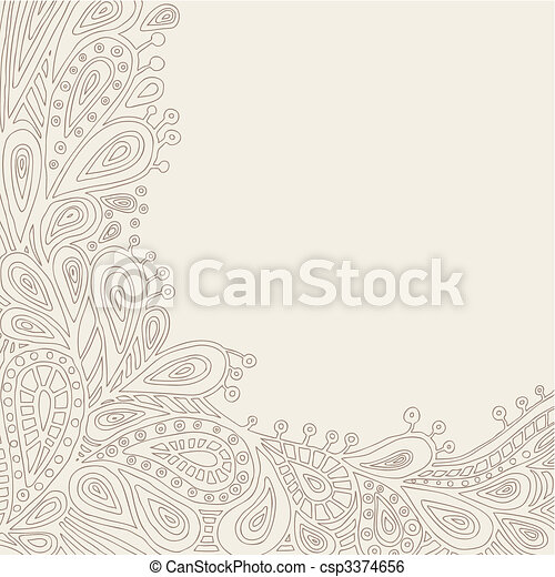 Decorative Background - csp3374656