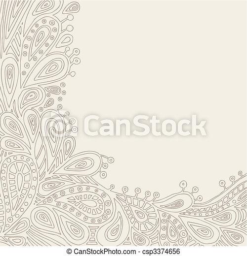 Decorative Background - csp3374656