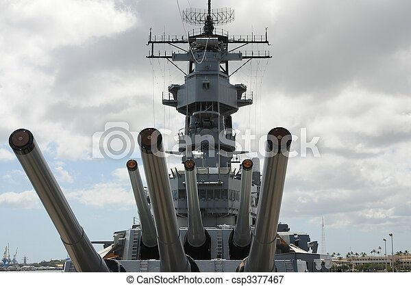 Battleship Missouri - csp3377467
