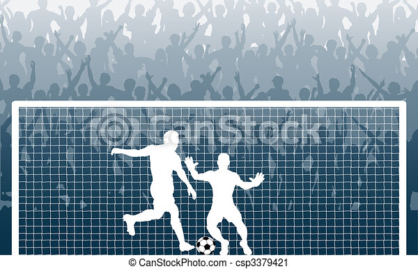Penalty kick - csp3379421